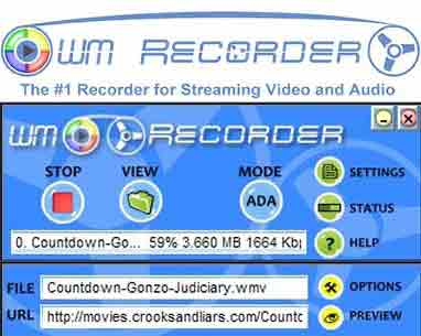 wmrecorder software
